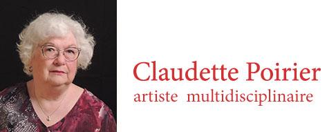 Claudette Poirier - artiste-multidisciplinaire